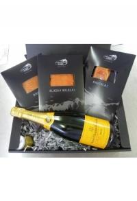 LaxBox mit Veuve Clicquot Champagner